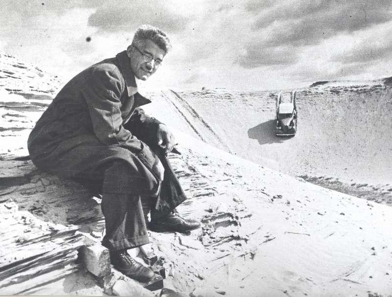 Виталий Грачев ивездеход ГАЗ-61, 1939 год. Фото Николая Добровольского.