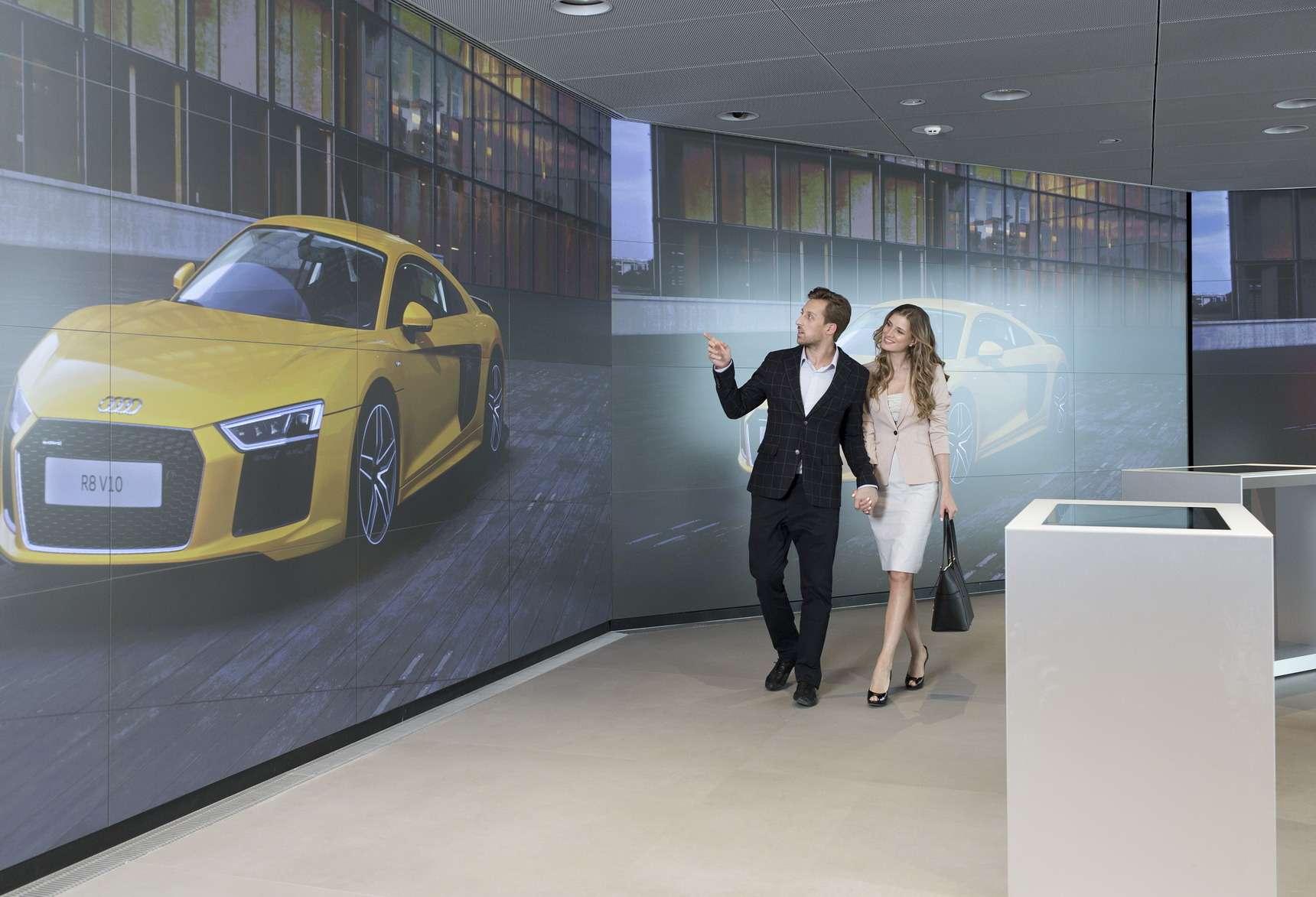 В Москве построили город Audi— фото 603935