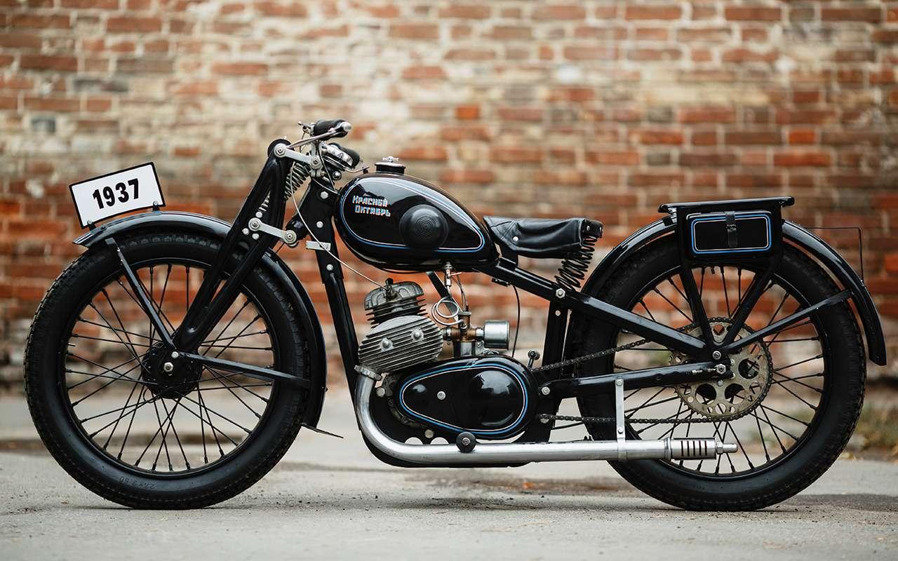 Первый серийный советский мотоцикл: история одной копии— фото 908507