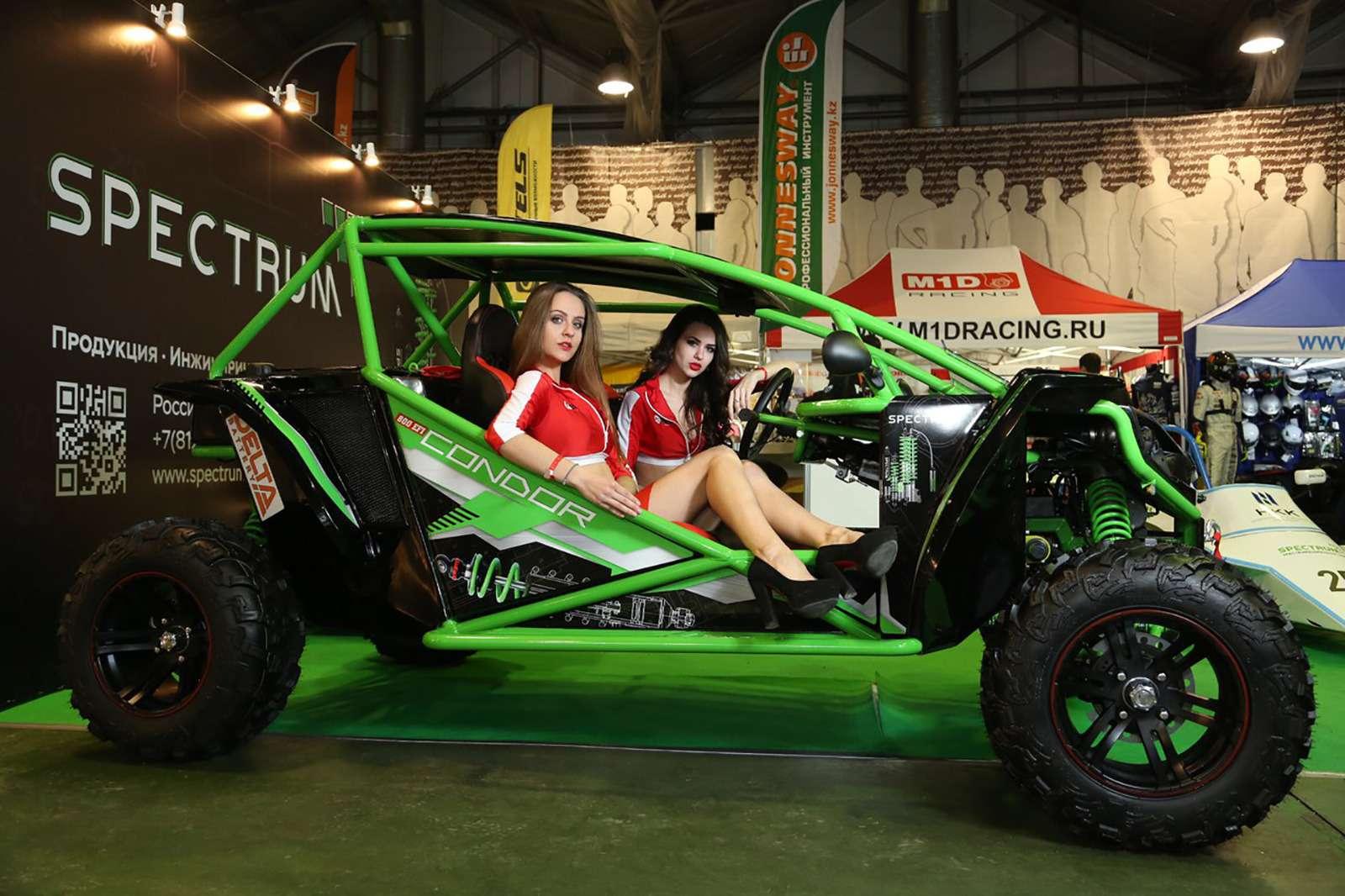 Самые быстрые автомобили илучшие гонщики — спешите на«Моторэкспо»
