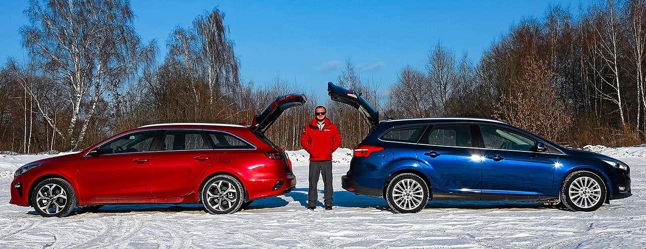Большой тест универсалов: Ford против Kia— фото 959172