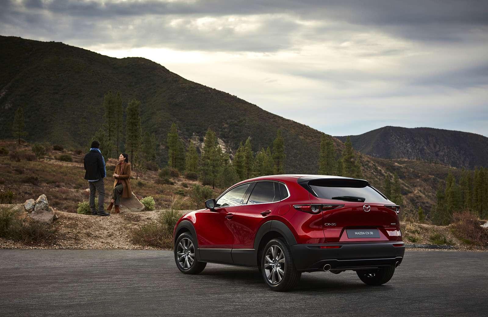 Mazda показала новый кроссовер— ждем его вРоссии— фото 954641