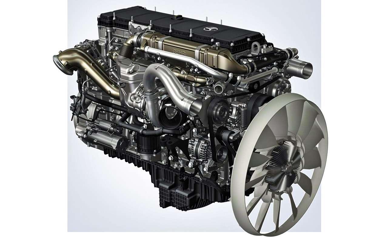 Mercedes-Benz Actros иArocs MP4: комплектация дляРоссии— фото 931095