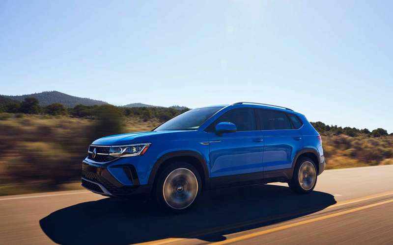 VW Taos - представлена версия для России
