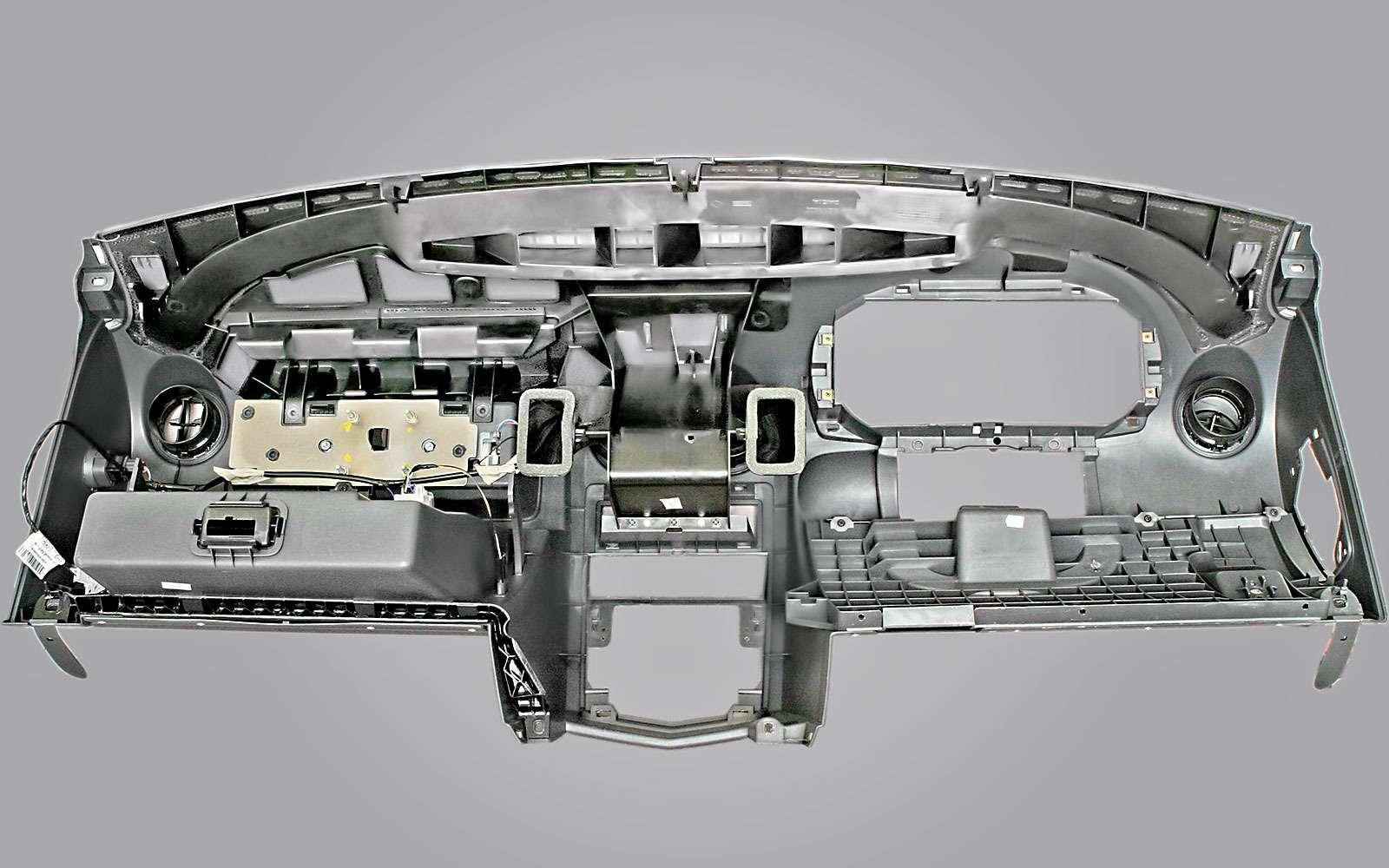 Передняя панель Renault Logan