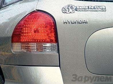 Комплектация Hyundai Santa Fe: Говорящая фамилия— фото 90666