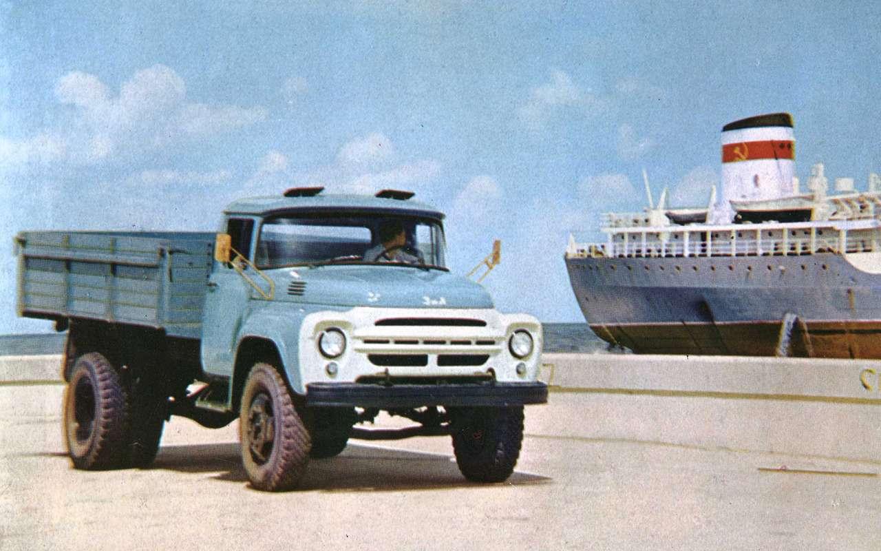 Мотор V12с автоматом— были итакие грузовики вСССР!— фото 1033955