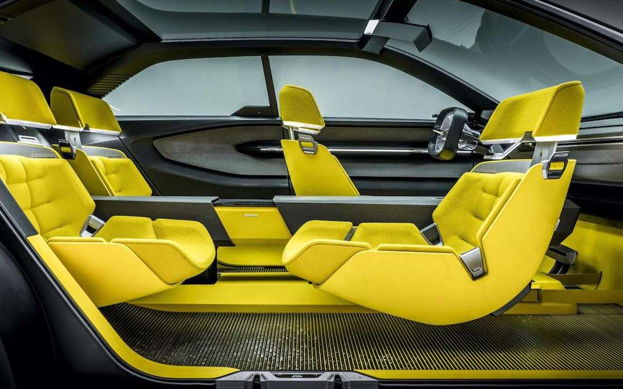Трансформер Morphoz— концепт Renault длягорода итрассы— фото 1089035