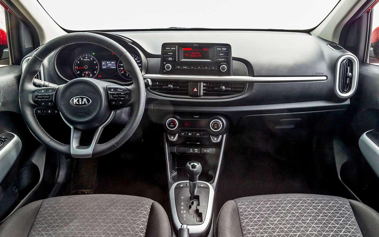 Большой тест маленьких хэтчбеков: Kia Picanto, Datsun mi-DO иSmart ForFour— фото 796008