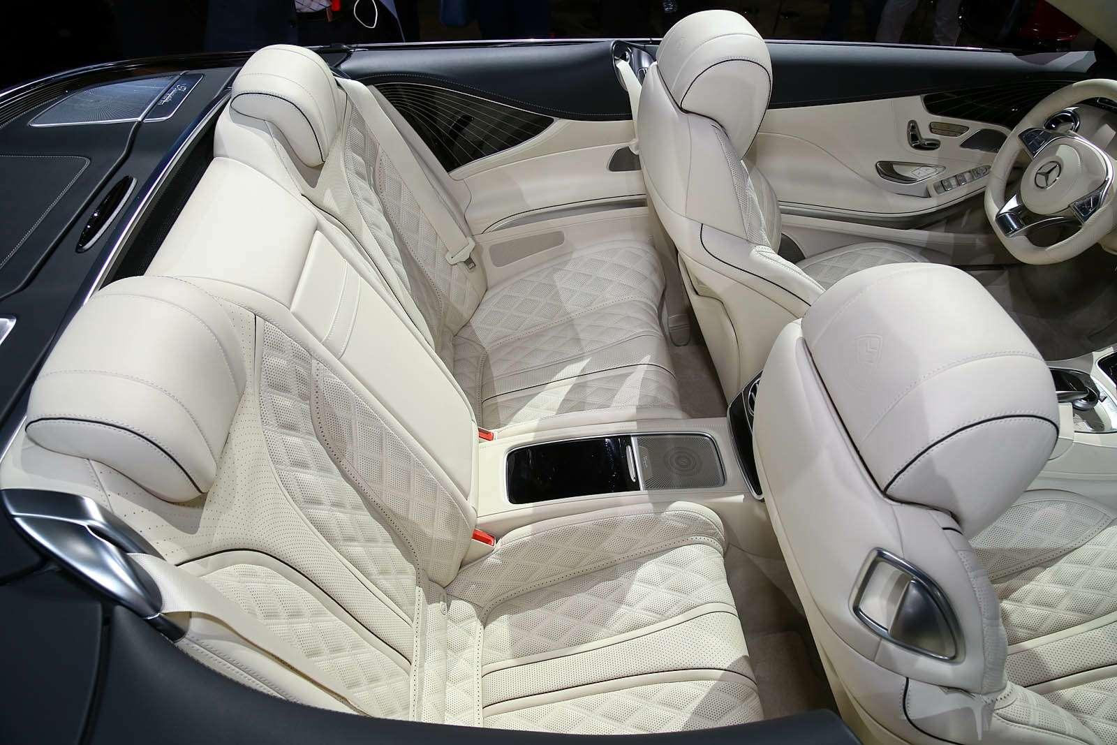 Царская особа: Mercedes-Maybach S650 Cabriolet раскрывает тайны— фото 665258