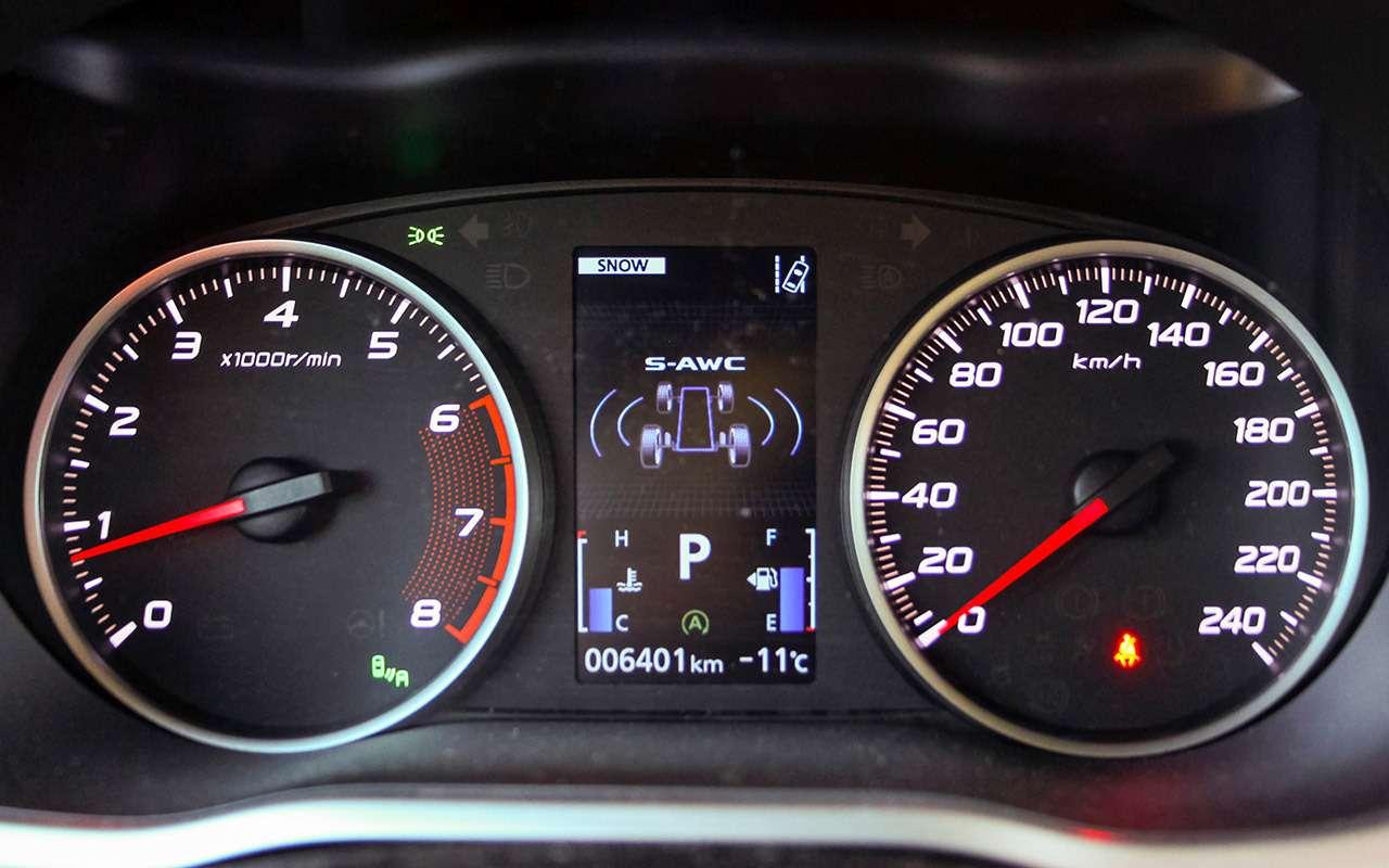 Mitsubishi Eclipse Cross— тест-драйв наледовой трассе— фото 854296