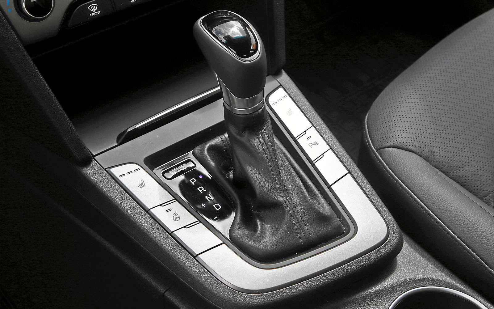 Селектор автомата Hyundai Elantra