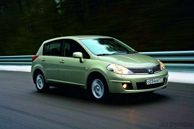 Toyota Auris, Mitsubishi Lancer, Nissan Tiida, Citroen C4: Имею желание…— фото 92587
