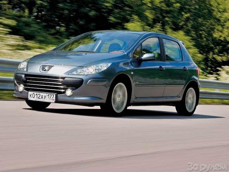 Тест Peugeot 307, Honda Civic. Берегитесь, лентяи!— фото 66536