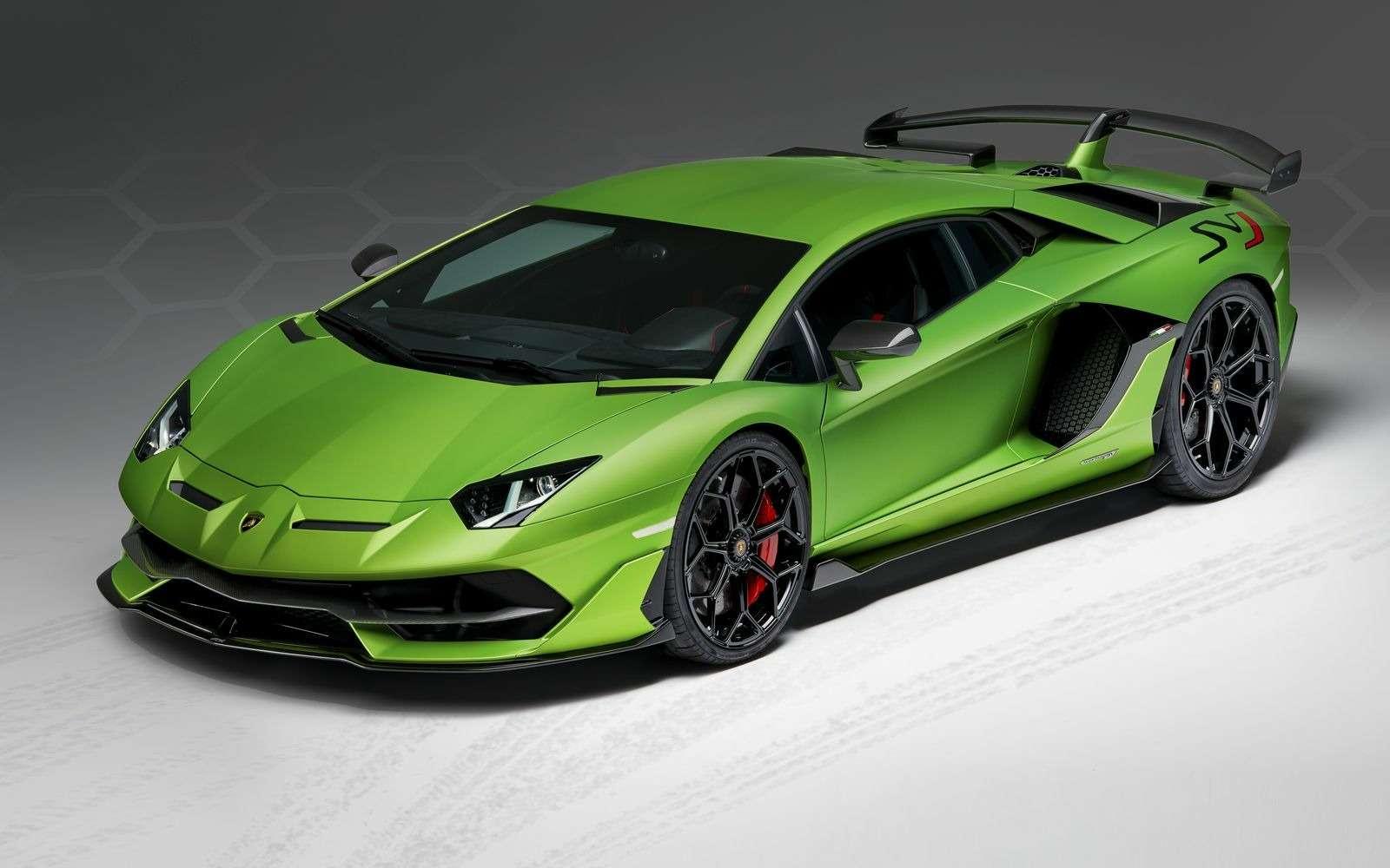 Lamborghini представила самый быстрый суперкар всвоей истории— фото 898579