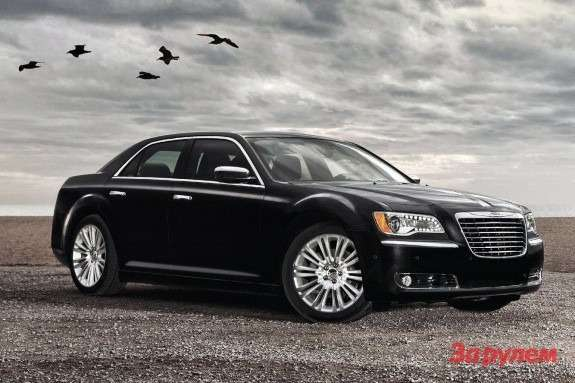 Chrysler 300C side-front view