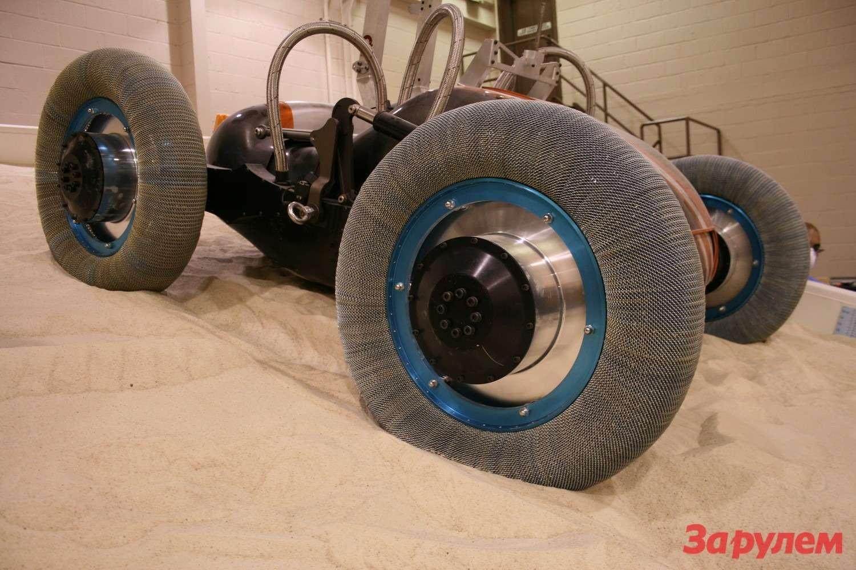Проволочные шины накосмических аппаратах