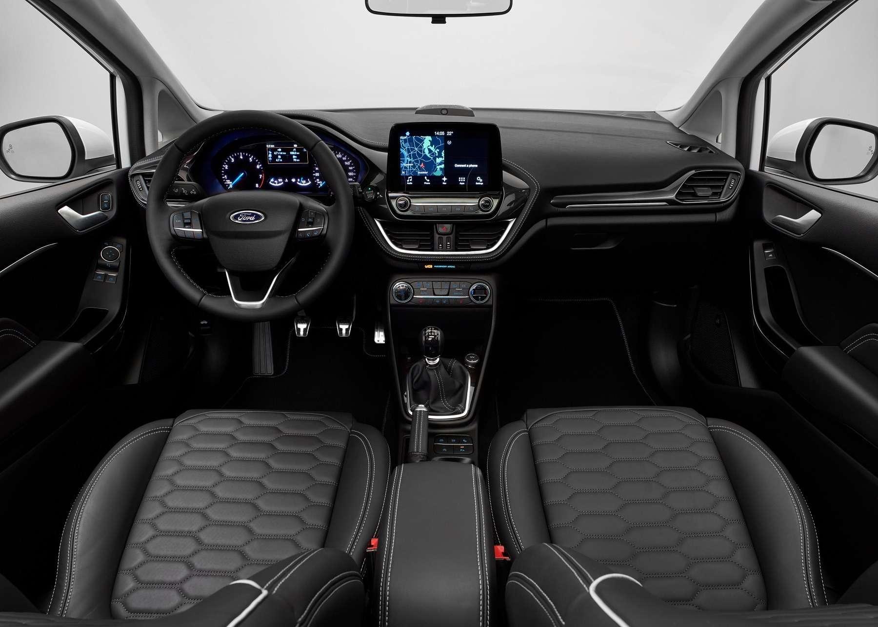 Кросс-вирус иторжество технологий: Ford представил новый хэтчбек Fiesta— фото 671294