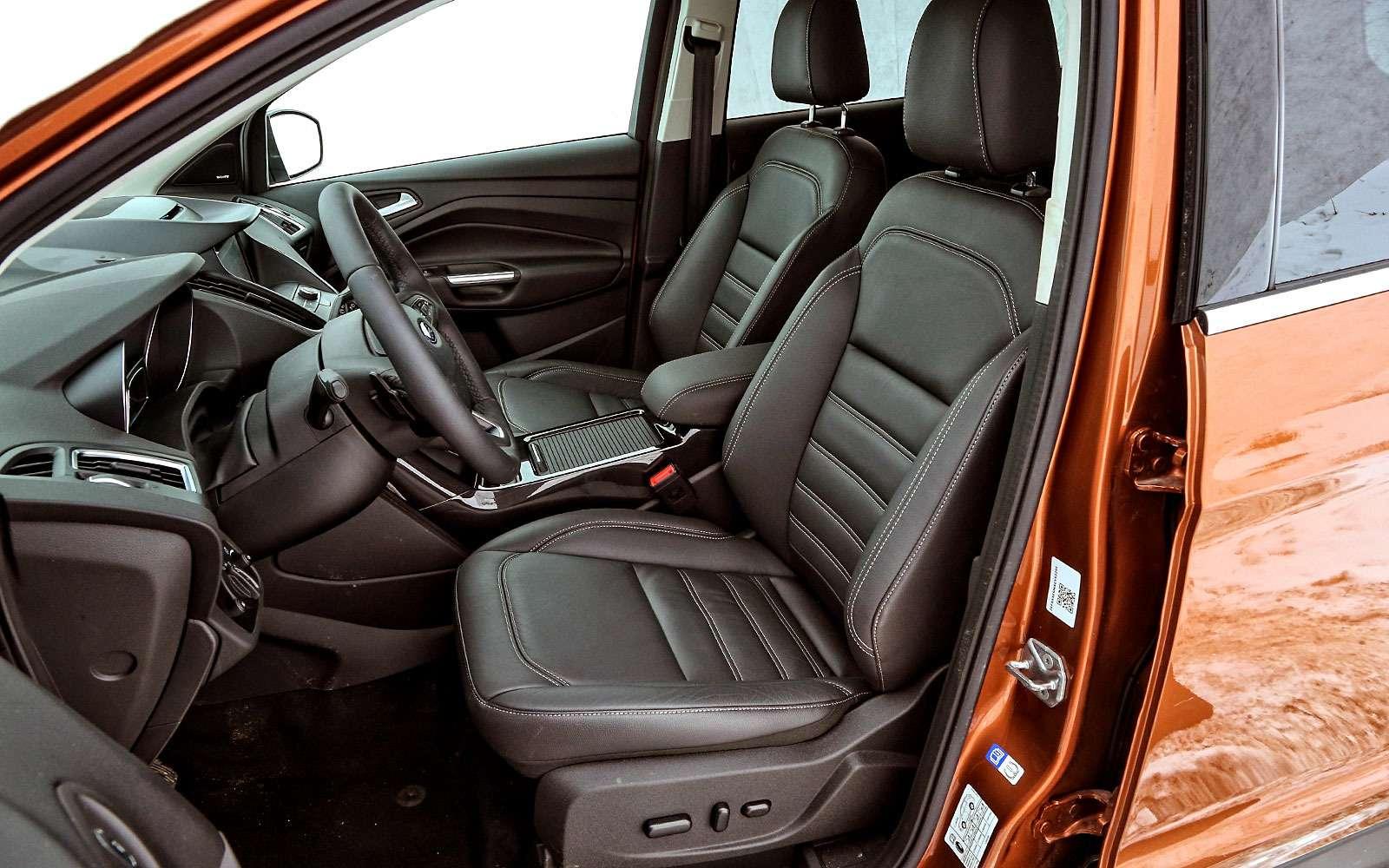 Обновленный Ford Kuga: дочего недошли руки?— фото 738242