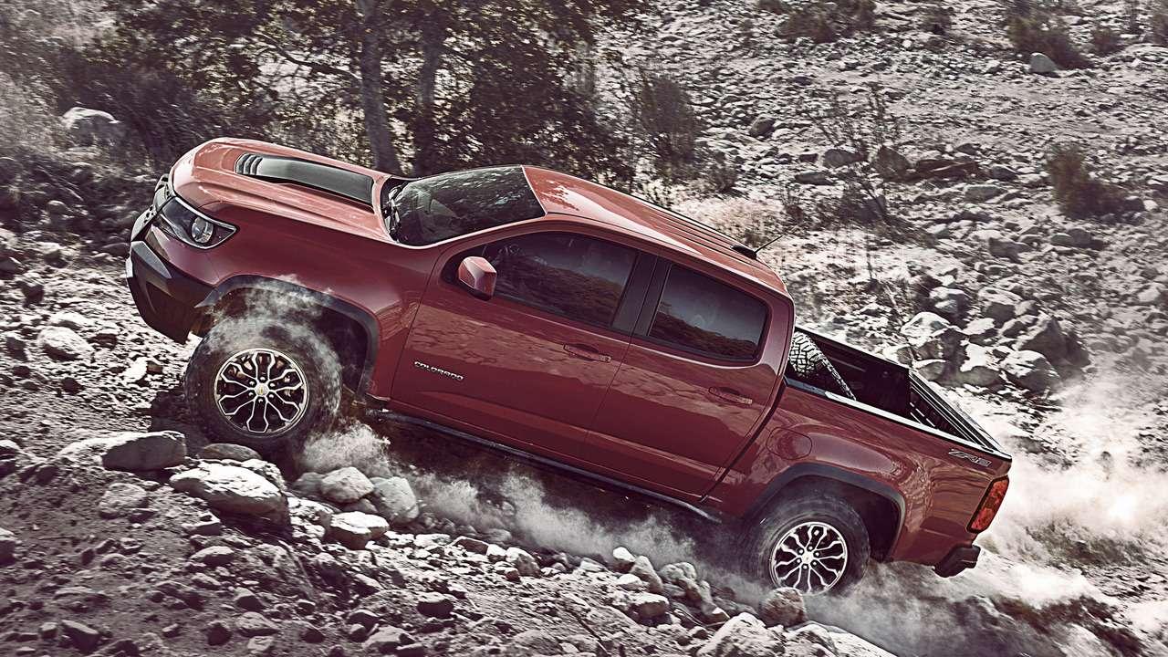Неразбирая дороги: Chevrolet показала оффроудный Colorado ZR2— фото 664456