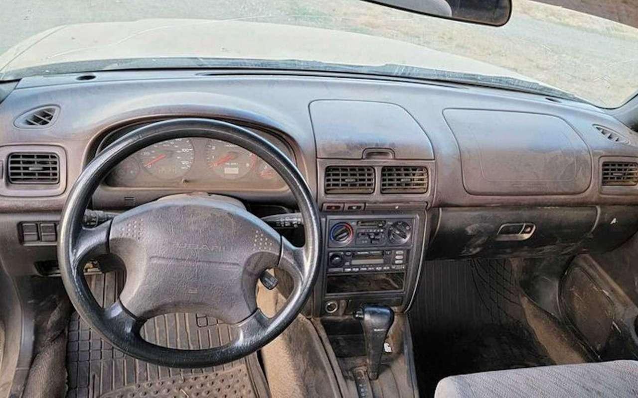Самодельный Subaru Forester Ute стрейлером-прицепом— фото 1274803