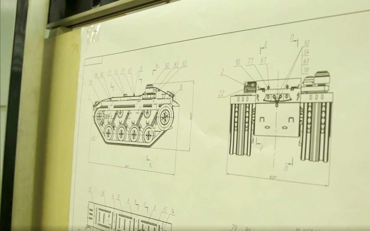 Бесконечный дозор: тест-драйв боевого робота «Нерехта»— фото 915633