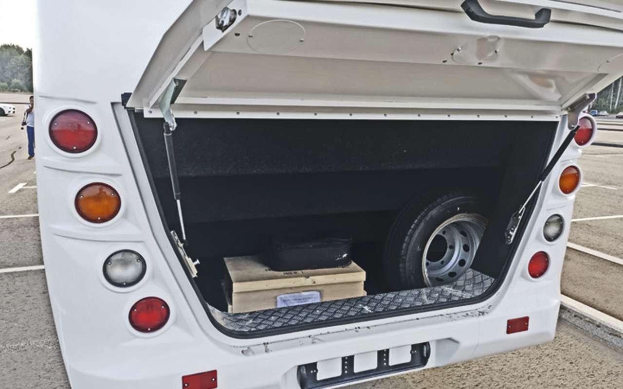 Небольшой автобус Неман 4202— опыт эксплуатации— фото 1278221