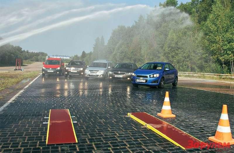 Renault Duster, Lada Largus, Chevrolet Aveo, Volkswagen Caddy, Skoda Octavia