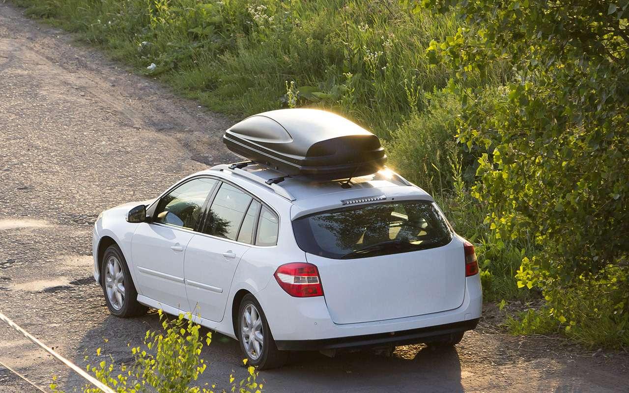 Багажник накрышу— простая инструкция повыбору— фото 1208117