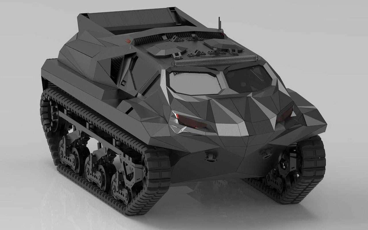 Storm— зловещий танк-амфибия изУкраины— фото 1228335