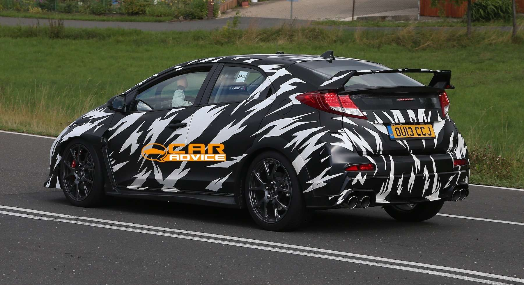 no copyright Honda Civic Type R Spied 7