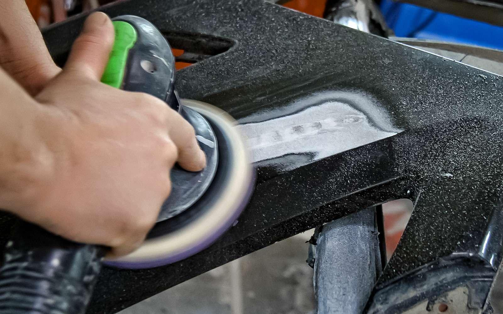 Ремонтируем бампер спомощью клея— инструкция ЗР— фото 779004