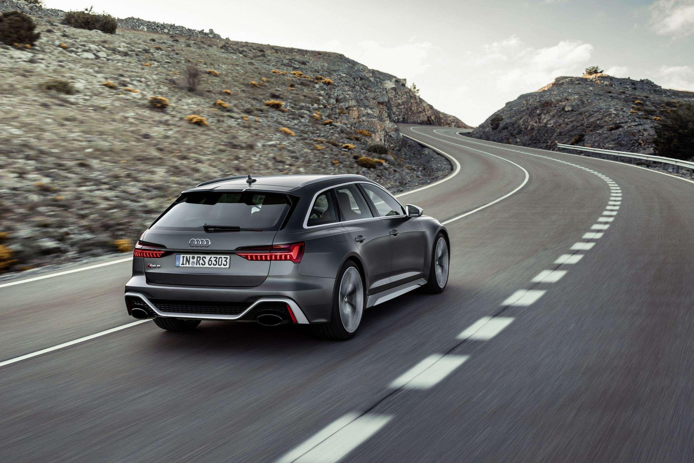 Audi сделала 600-сильный универсал A6с фарами отA7