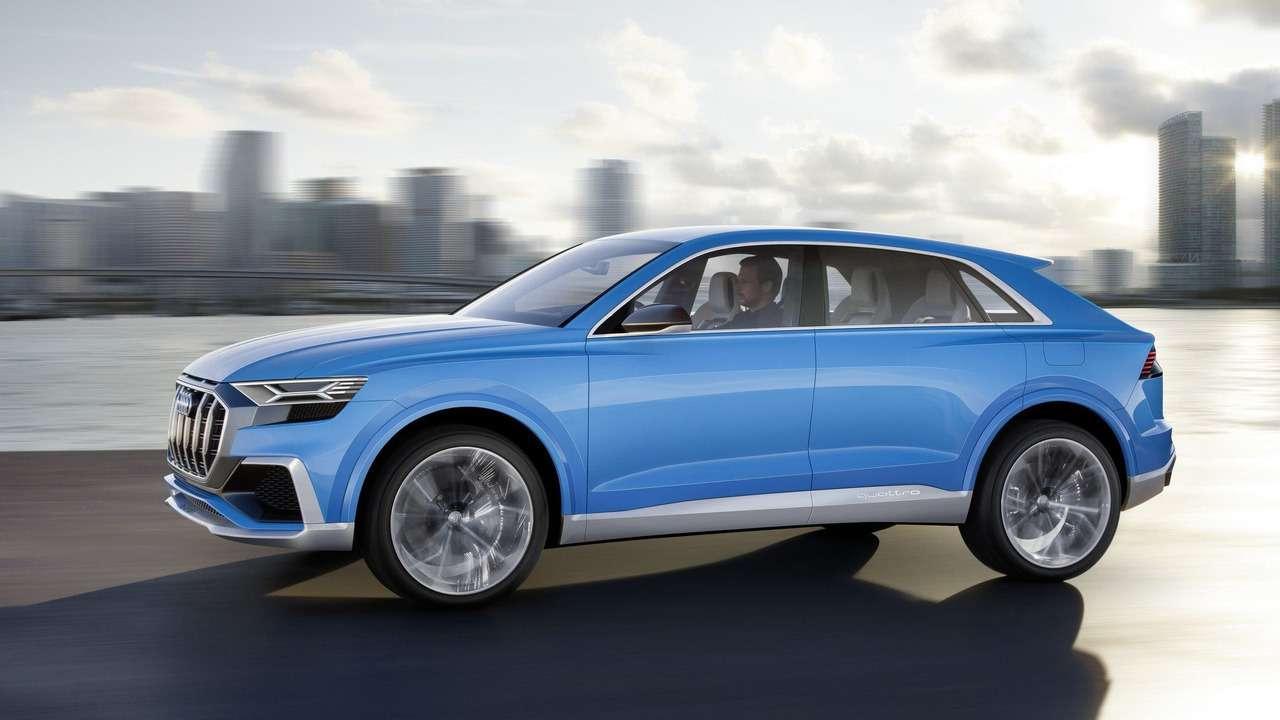 Угол зрения: концептуальный кроссовер Audi Q8поведал отоварной модели— фото 690560