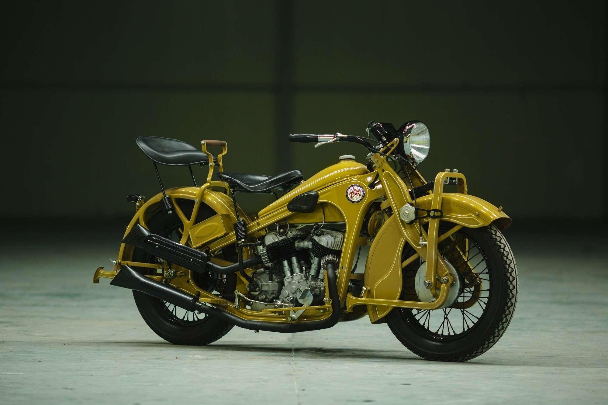 Тяжелый мотоцикл ПМЗ А-750: как Harley-Davidson оказался входовой BMW— фото 927411