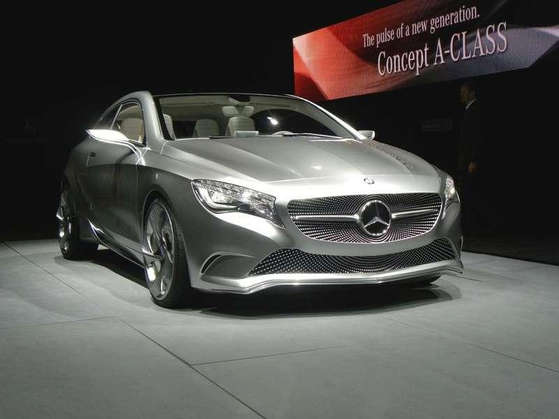 Новый A-Class представлен вШанхае