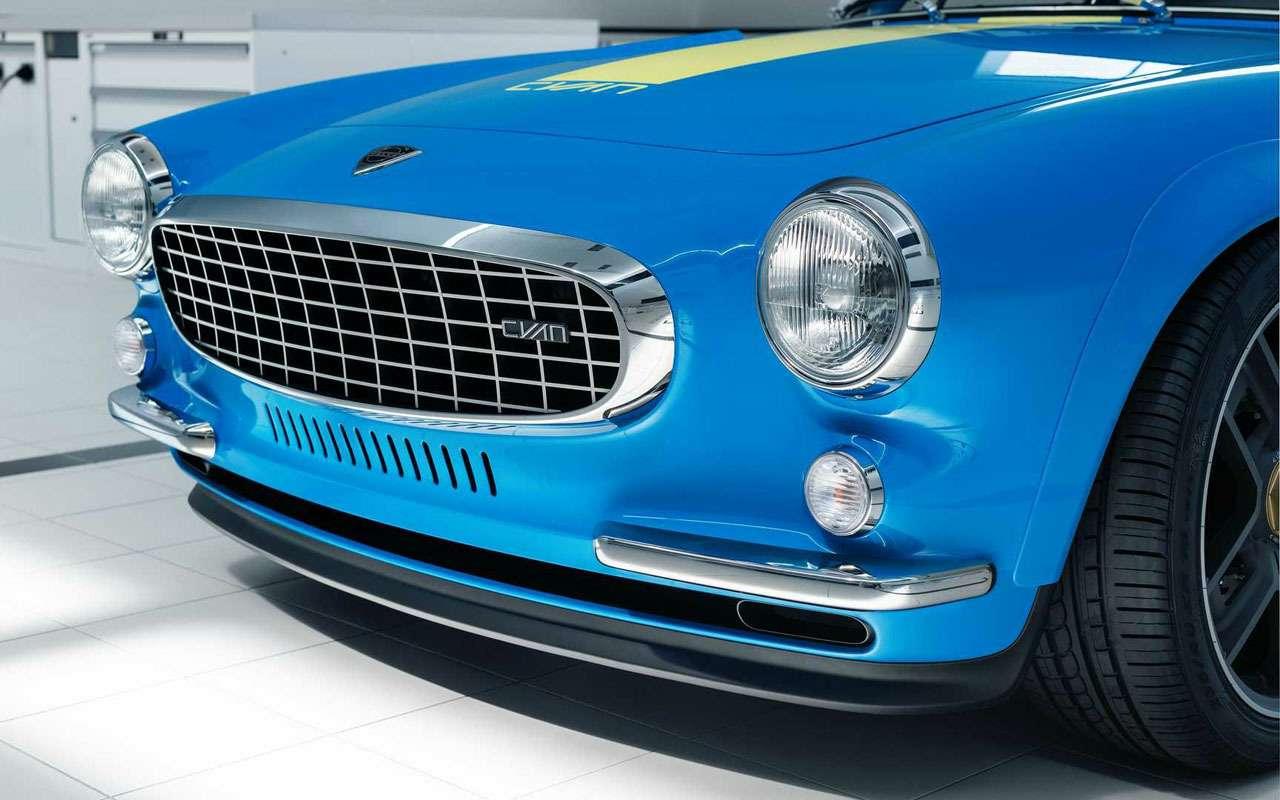 Volvo отказалась отвсей электроники (нонаодном купе)— фото 1164484