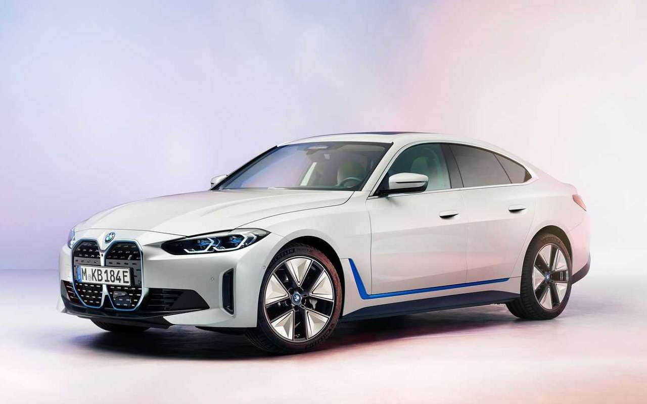 BMWпоказала спортивный седан i4— фото 1231730