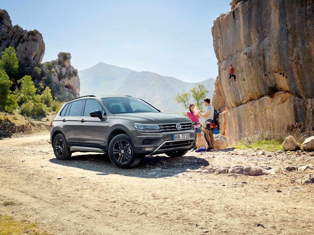 Volkswagen рассказал о«внедорожной» версии кроссовера Tiguan— фото 899861