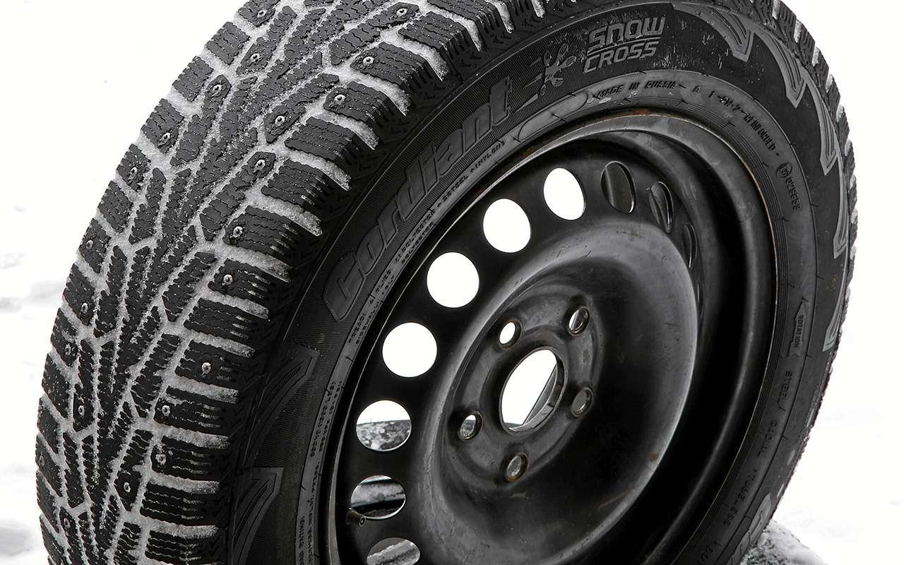 Шипованные шины 185/65R15для бюджетных автомобилей— тест «Зарулем»— фото 794347