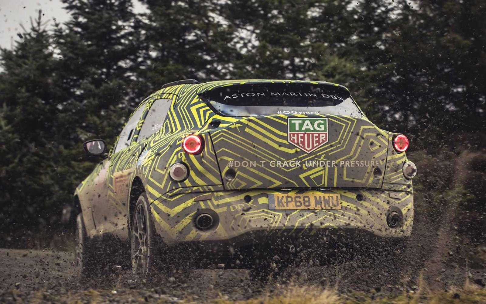 Aston Martin показал свой кроссовер нафото ивидео— фото 922766