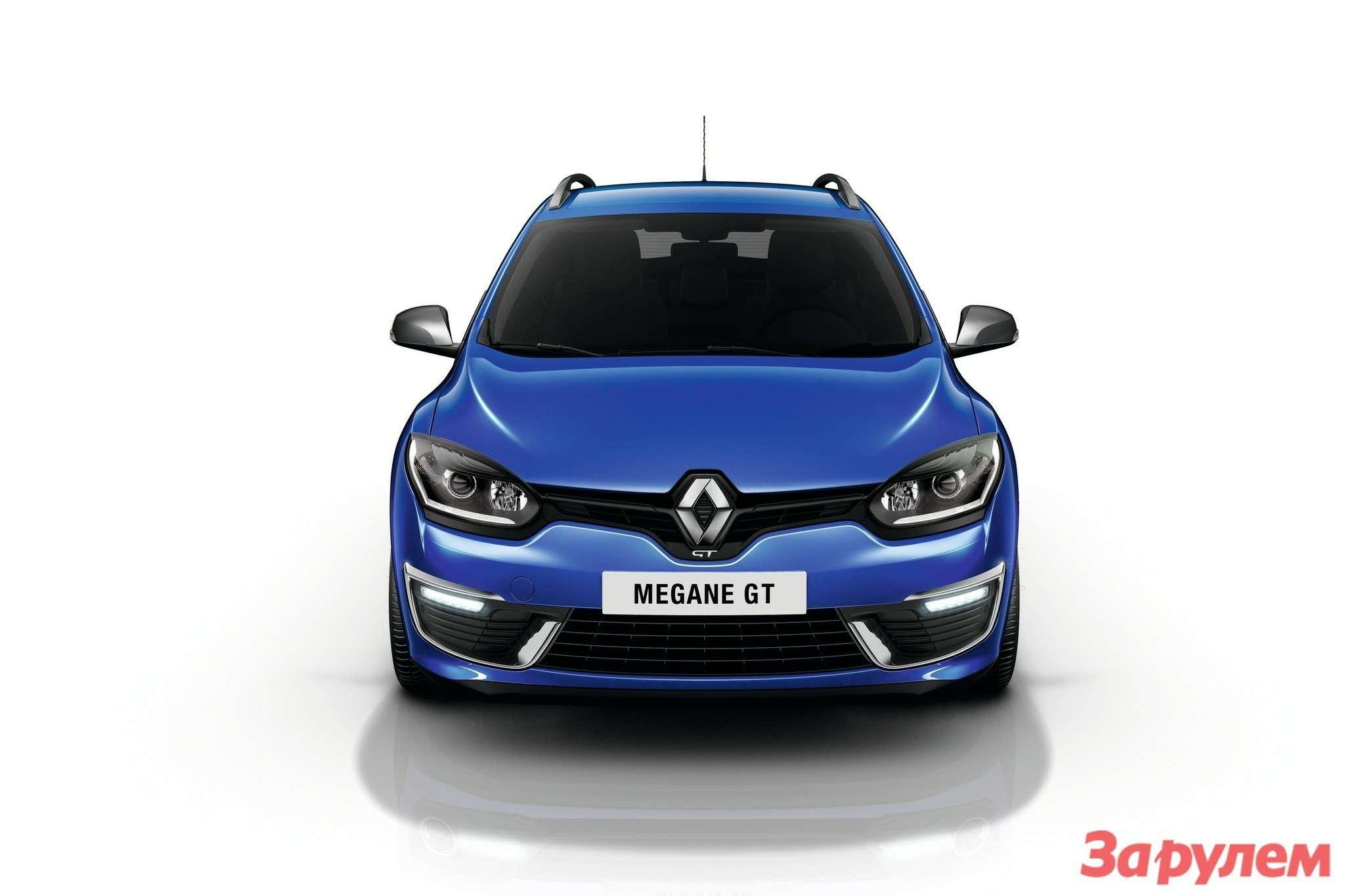 Обновленный Renault Megane GT