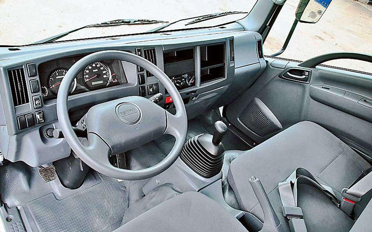 Развозной грузовичок Isuzu— там, куда ГАЗель не пустят— фото 1263242
