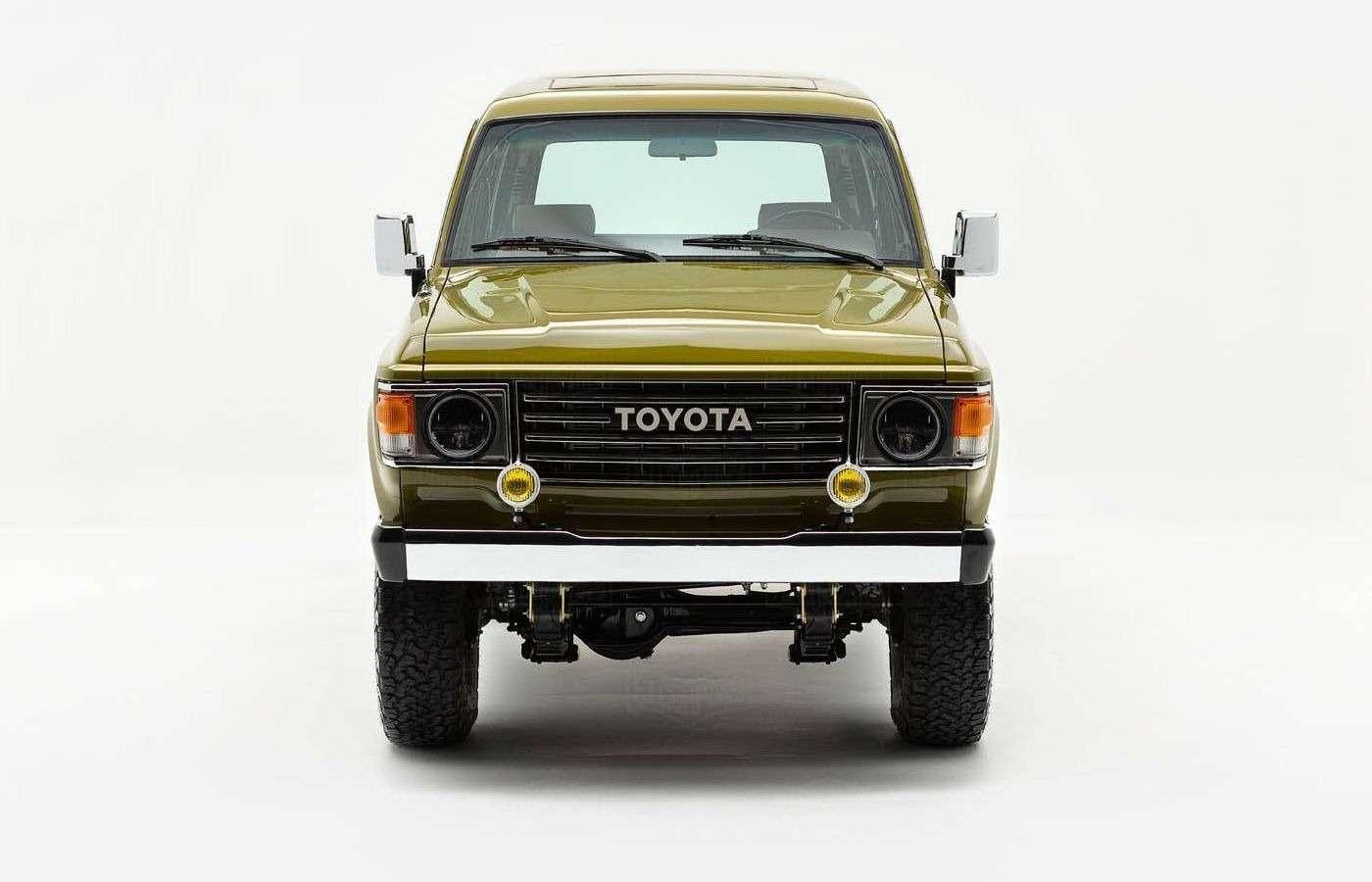Абсолютно новый Toyota Land Cruiser 1986 года. Да, такое бывает!— фото 877224