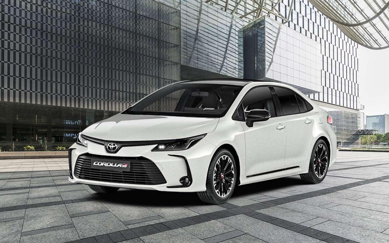 Спортверсии Toyota Corolla иC-HR: старт продаж ицены— фото 1220783