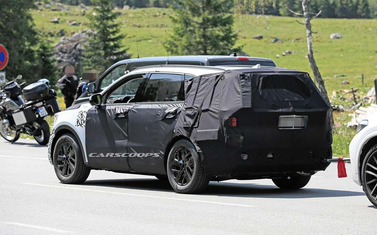 KiaSorento нового поколения копируют сBMW X5— фото 978859