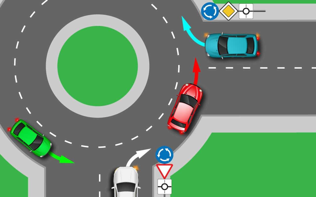 80% точно ошибутся. А вы сможете проехать круг без ДТП?