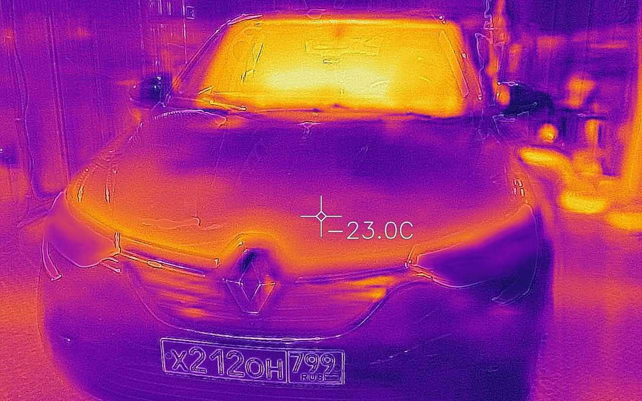 Жесткий тест Renault Arkana: перегруз изаморозка— фото 1244687