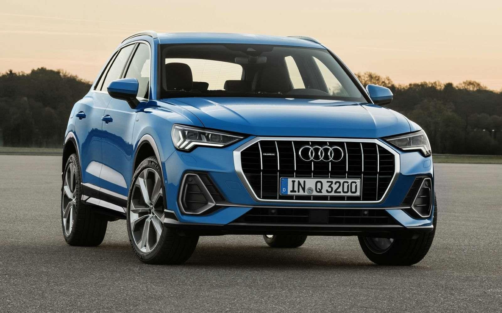 Новый Audi Q3: острые грани ицифровые приборы— фото 890050
