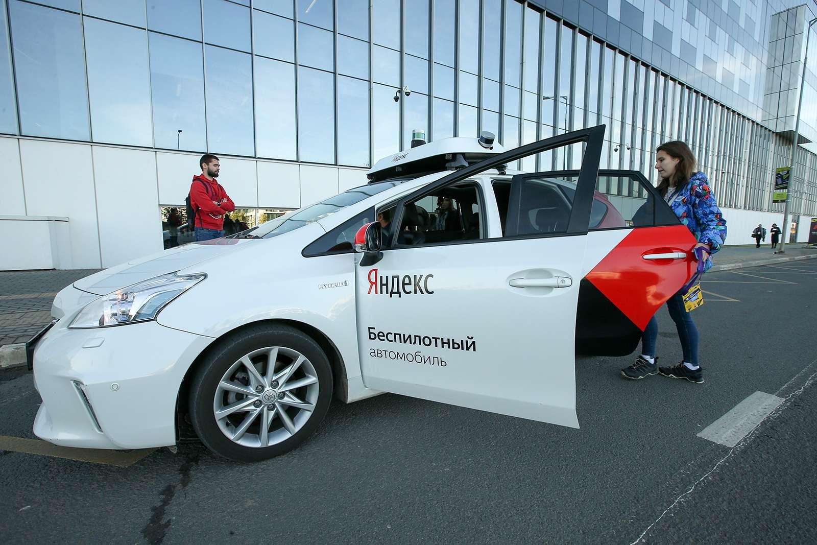 Yandex запустил беспилотное такси. Первый пассажир— Дмитрий Медведев— фото 914931